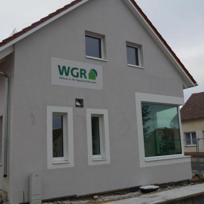 Mehrgenerationenhaus in Rietschen WDVS und Innenputz